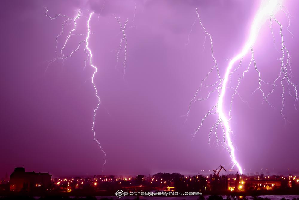 burza pioruny