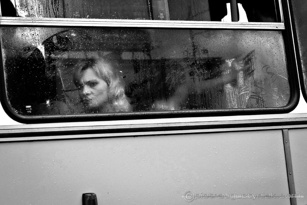 pasażer autobusu