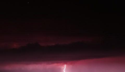 burza błyskawice